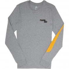 Nike SB Outdoor Long Sleeve T-Shirt - Dark Grey Heather