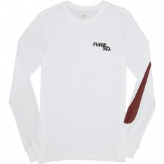 Nike SB Outdoor Long Sleeve T-Shirt - White