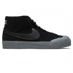 Nike SB Zoom Blazer Mid XT Shoes - Black/Mettalic Pewter/Cool Grey
