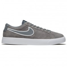 Nike SB Blazer Vapor Shoes - Cool Grey/White