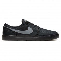 Nike SB Portmore II Ultralight Shoes - Black/Cool Grey
