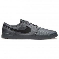 Nike SB Portmore II Ultralight Shoes - Dark Grey/Black