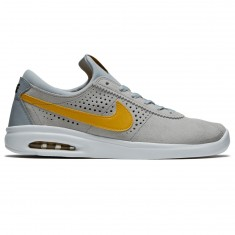 Nike SB Air Max Bruin Vapor Shoes - Wolf Grey/Mineral Gold/White