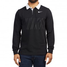 Nike SB Dry Polo Shirt - Black/White