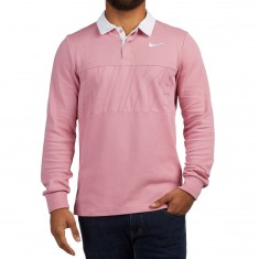 Nike SB Dry Polo Shirt - Elemental Pink/White