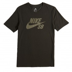 Nike SB Logo T-Shirt - Sequoia/Medium Olive