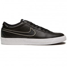 Nike SB Bruin Premium SE Shoes - Black/Black/Metallic Pewter