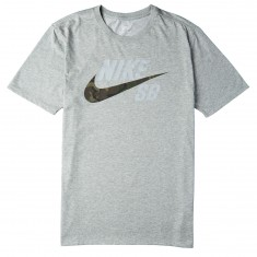 Nike SB DFC Camo T-Shirt - Dark Grey Heather