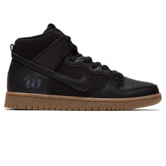 Nike SB x Anti Hero Zoom Dunk High Pro QS Shoes - Black/Black/Anthracite/Gum Dark Brown