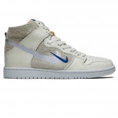 Nike SB X Soulland Zoom Dunk High Pro QS Shoes - Sail/Game Royal/White