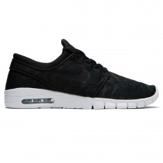 Nike Stefan Janoski Max Shoes - Black/Black/White