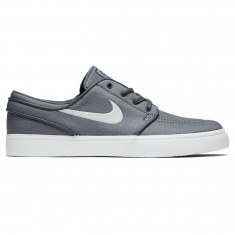 Nike Zoom Stefan Janoski Canvas Shoes - Dark Grey/Light Bone/Black