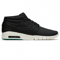 Nike Stefan Janoski Max Mid Shoes - Black/Neptune Green/Anthracite