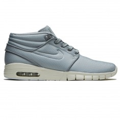 Nike Stefan Janoski Max Mid Shoes - Wolf Grey/Cool Grey