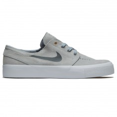 Nike SB Zoom Stefan Janoski HT Shoes - Wolf Grey/Metallic Gold/White