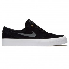Nike SB Zoom Stefan Janoski HT Shoes - Black/Dark Grey/Metallic Gold/White