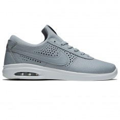 Nike SB Air Max Bruin Vapor Leather Shoes - Wolf Grey/Cool Grey