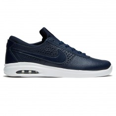 Nike SB Air Max Bruin Vapor Leather Shoes - Obsidian/Obsidian/Black