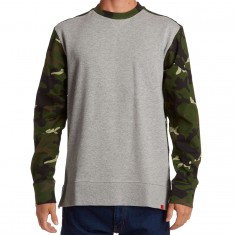 Asphalt Yacht Club Split Crew Neck Sweatshirt - Camo