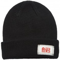 Asphalt Yacht Club Riley Hawk Beanie - Black -