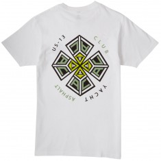 Asphalt Yacht Club Throwing Star T-Shirt - White