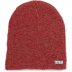 Neff Daily Heather Beanie - Red/Twill