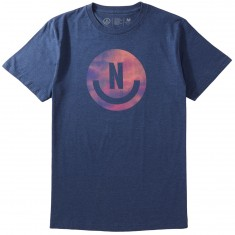 Neff Smiley T-Shirt - Neon Peach Heather