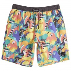 Neff Tropical Jungle Hot Tub Shorts - Tropical Jungle