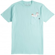 Neff Pocket T-Shirt - Celadon