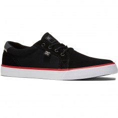 DC Council S Shoes - Black/White/Red