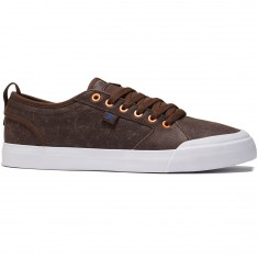 DC Evan Smith LX Shoes - Dark Chocolate