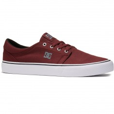 DC Trase TX Shoes - Ox Blood