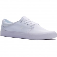 DC Trase TX Shoes - White/White/White