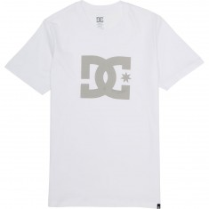 DC Star T-Shirt - White/Wild Dove