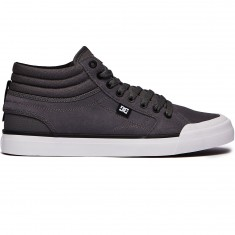 DC Evan Smith Hi Shoes - Pewter