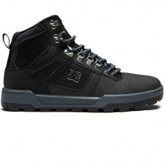 DC Spartan High WR Boots - Black/Black/Dark Grey