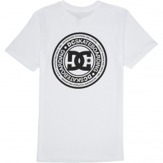 DC Skate Circle T-Shirt - Snow White
