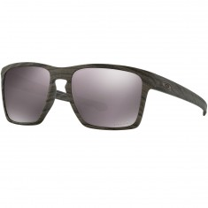 Oakley Silver XL Sunglasses - Woodgrain/Prizm Daily Polarized