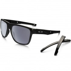 Oakley Crossrange XL Sunglasses - Matte Black/Grey