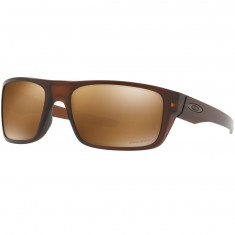 Oakley Drop Point Sunglasses - Matte Rootbeer/Prizm Tungston Polarized