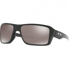 Oakley Double Edge Sunglasses - Polished Black/Prizm Black Polarized