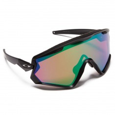 Oakley Windjacket 2.0 Sunglasses - Matte Black/Prizm Snow Jade