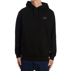 Huf Classic H Pullover Hoodie - Black