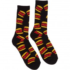 Huf DBC King Crew Socks - Black
