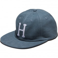 Huf Classic H 6 Panel Bedford Cord Hat - Blue Jean