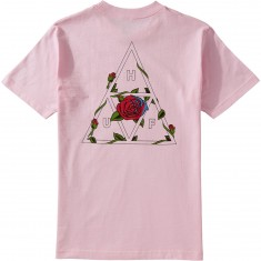 Huf Roses Triple Triangle T-Shirt - Pink