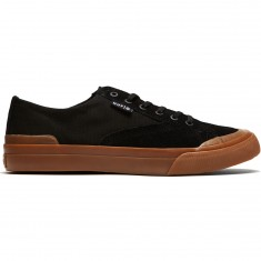 HUF Classic Lo Ess Shoes - Black/Gum