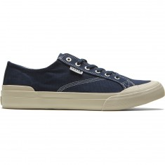 HUF Classic Lo Ess Tx Shoes - Navy/Cream
