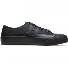 Huf Hupper 2 Lo Shoes - Black/Black