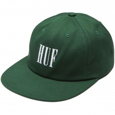 Huf Marka 6 Panel Hat - Green
